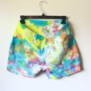 Faded Glory Shorts size 8 Tie Dye